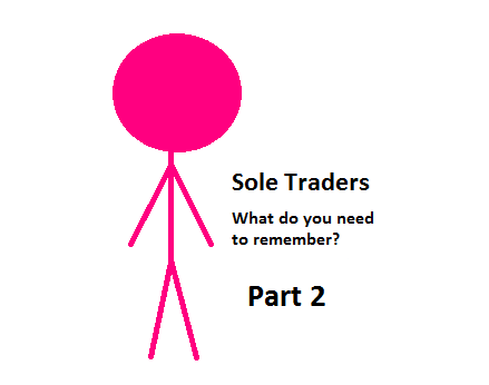 Sole traders part 2