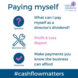 Paying director's dividends: How can a bookkeeper help?